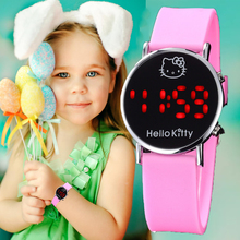 Cartoon LED Digital Watch hodinky Children Ladies Girls Watc