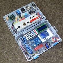 Arduino UNO R3 용 최신 RFID 스타터 키트 업그레이드 버전 소매 상자가있는 학습 스위트