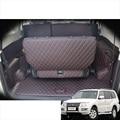 Lsrtw2017 кожаные багажнике автомобиля коврик для багажника для Mitsubishi Pajero Montero Shogun 2006-2019 2016 2015 2014 2013 2012 2011 2010