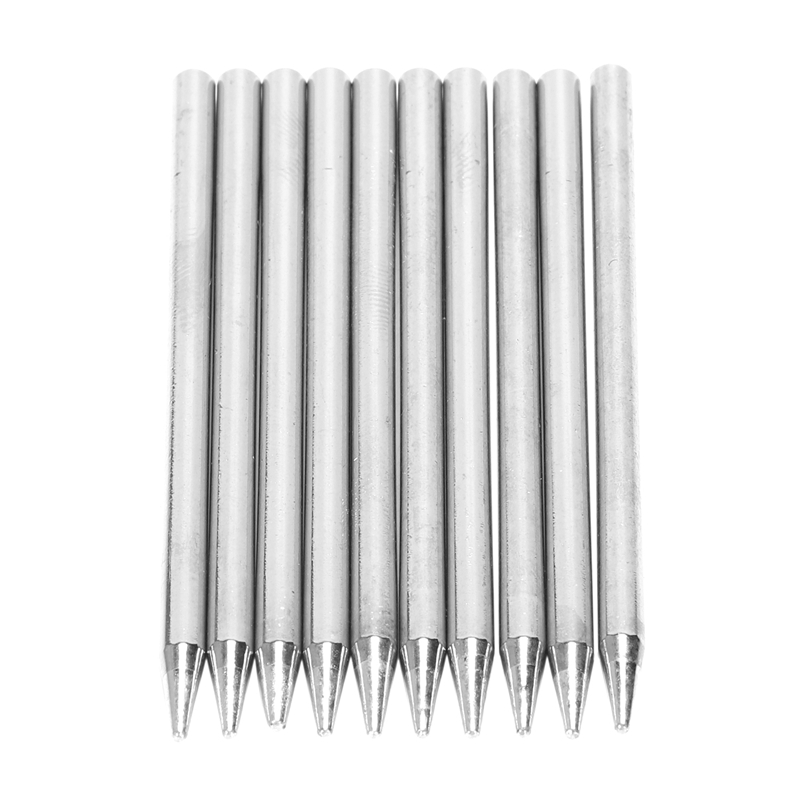 10X Lead-Free Replacement Pencil Soldering Tip Solder Iron Tips 30W