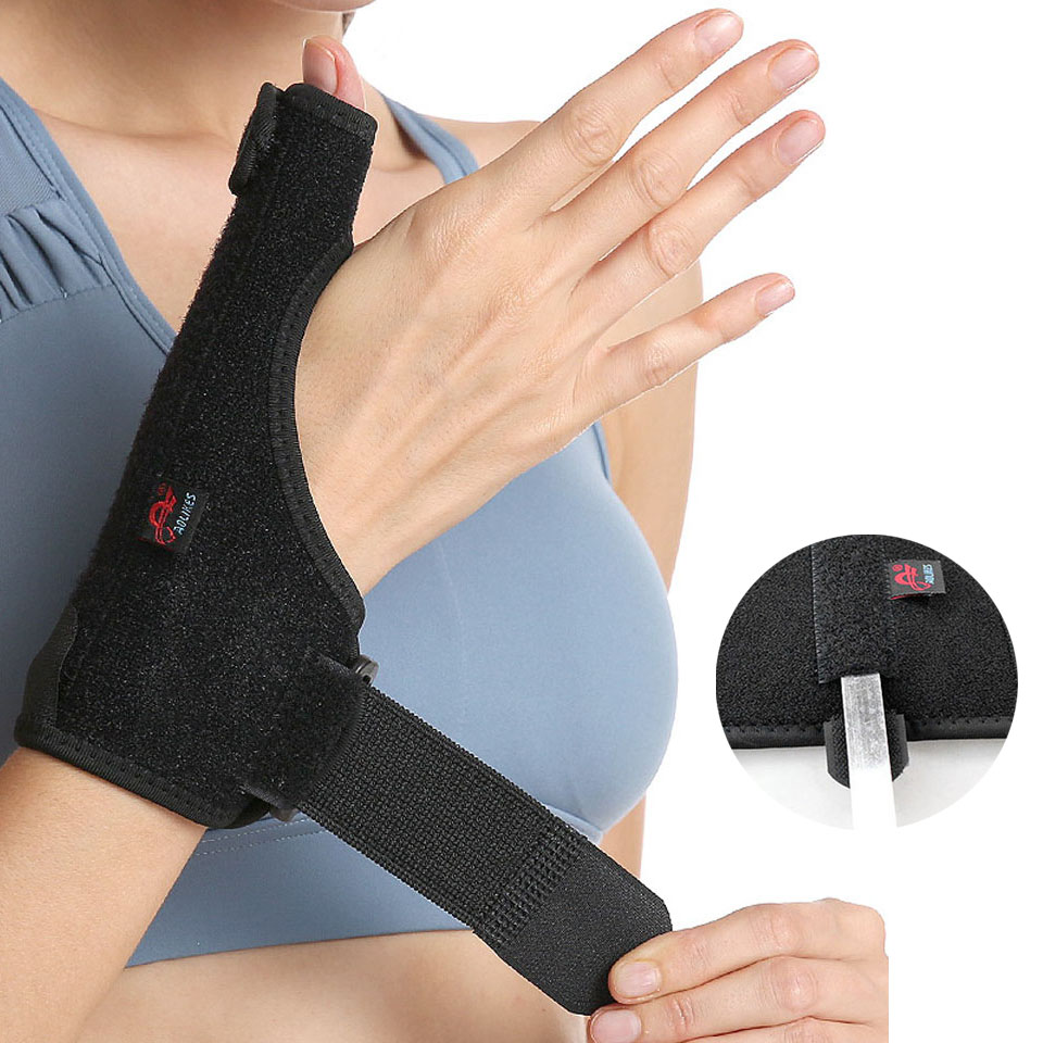 1PCS Thumb Splint For Tendonitis With Built-in Splint For Arthritis, Carpal Tunnel And Sprains.Natural Pain Relief For Thumbs