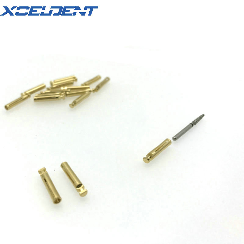 10pcs/set Dental Burs Adaptor FG High Speed To Low Speed Contra Angle Convertor 1.6mm To 2.35mm