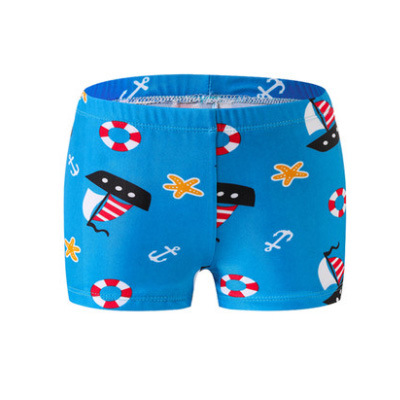 New Style CHILDREN'S Swimming Trunks BOY'S Cartoon Swimming Trunks Small Middle And Large Boy Shorts Infant CHILDREN'S Baby Swim