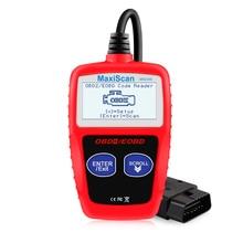الأصلي MS309 OBD2 الماسح الضوئي متعدد اللغات السيارات الماسح الضوئي محرك أداة تشخيص ODB 2 EOBD MS309 السيارات التشخيص أداة مسح ضوئي