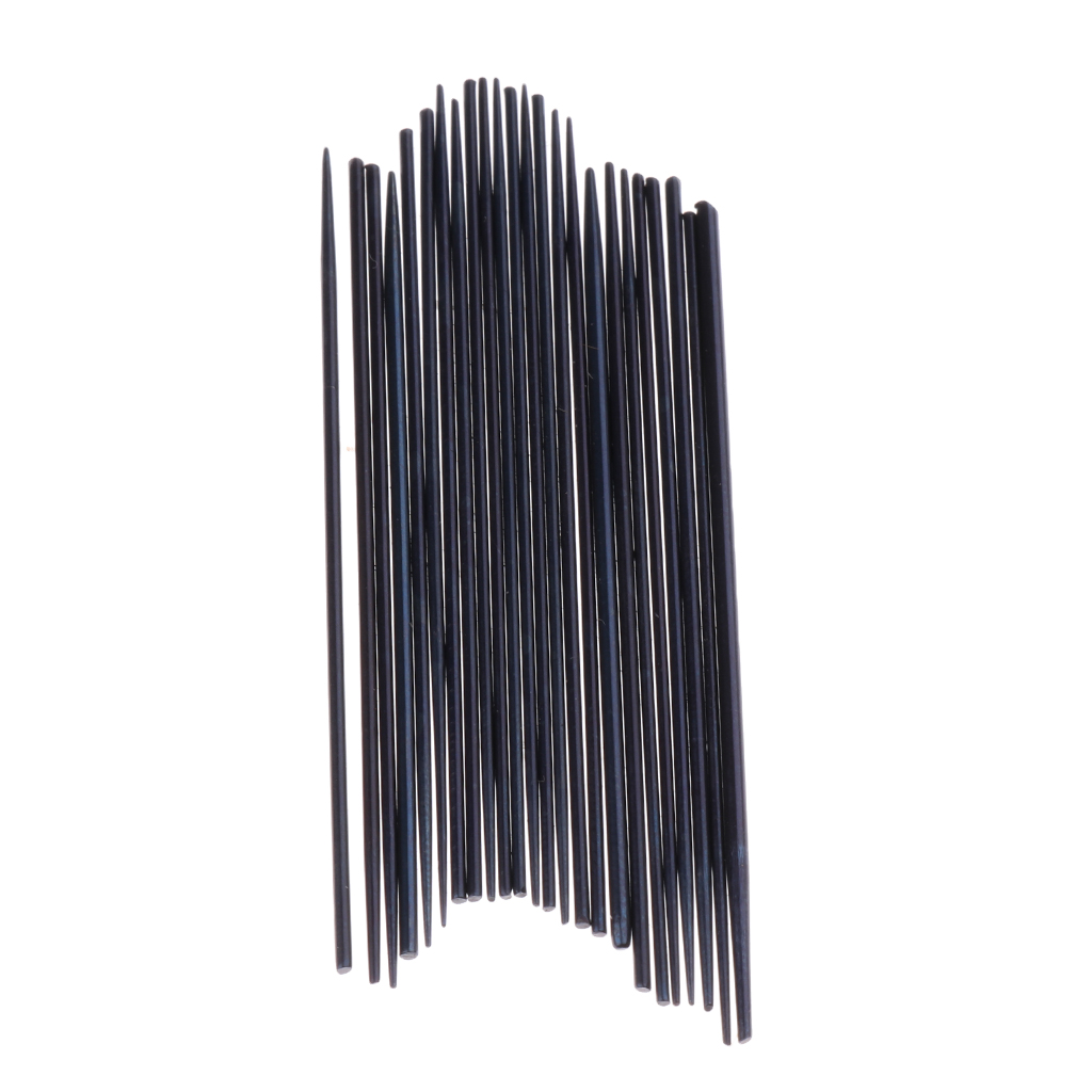 24 Pcs/Set Saxophone Spring Needle Saxophone Repair Tools Replacement 0.8-1.3mm For Musical Instrument Parts