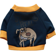 Cute Pet Dog Letters Printed Clothes Costume Holiday Suit Hoodies Party Kitten Cat Puppy Warm