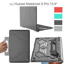 все цены на For Huawei Matebook X Pro Case Heat Dissipate Multi-angle Stand Holder Laptop Cover for Huawei 2019 Matebook X Pro 13.9 онлайн