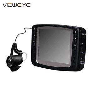 Image 1 - ViewEye 8 IR Infrarot Lampe 1000TVL 3.5 Farbe Bildschirm Unterwasser Eis Video Angeln Kamera Kit Visuelle Video Fisch Finder fishcam