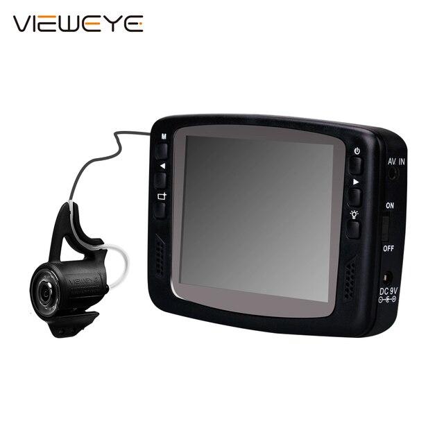 Vieweye 8 ir赤外線ランプ1000TVL 3.5インチカラー画面水中アイスビデオ釣りカメラキット視覚ビデオ魚ファインダーfishcam