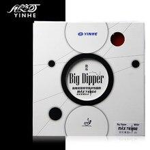 Yinhe grande dipper max tense (brega) pips no tênis de mesa de ping pong borracha com esponja