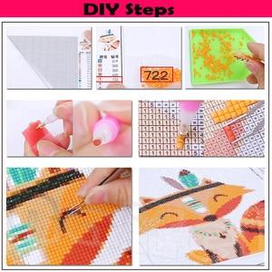 "Image 5 - 3pcs/set,5D diy diamond embroidery""Clowns""full square diamond painting abstract Cross Stitch Rhinestone mosaic child room decor"