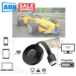 Image 1 - Aun sem fio hd dongle, sem fio mesma tela. mesmo telefone de tela, computador. conexão de suporte tv. projetor. monitor (entrada hd)