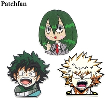 Custom Badges Academia Iron-On-Patches Patchfan Clothing Patchwork-Accessories Embroideried