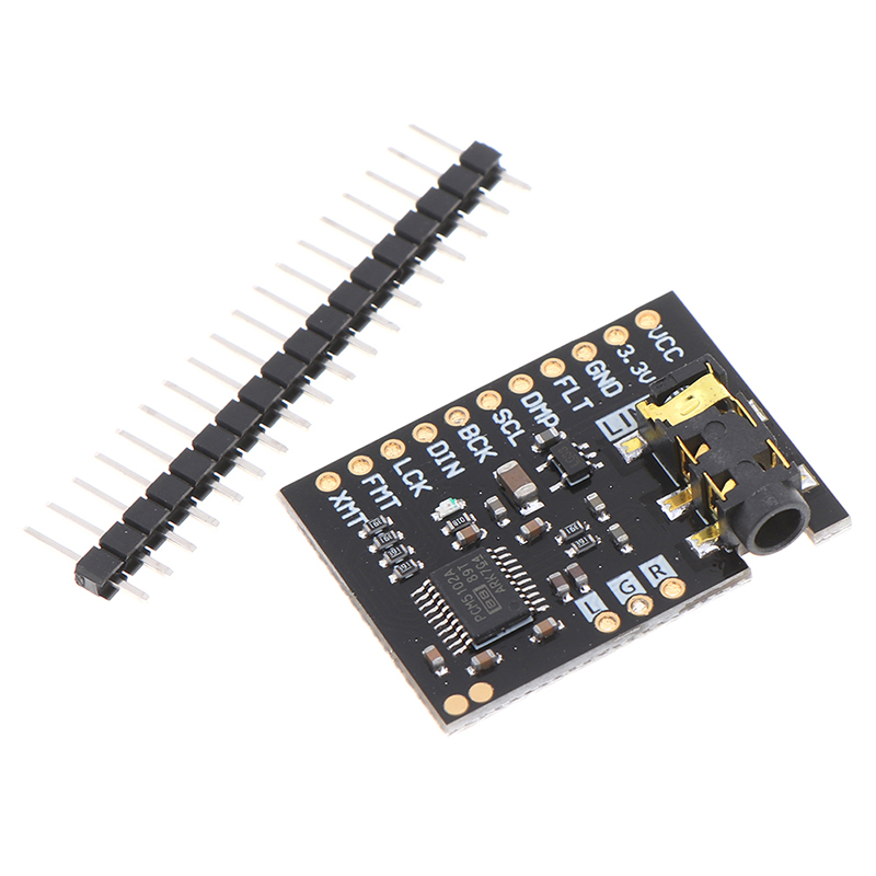 PCM5102A DAC I2S интерфейс декодер доска 192 кГц 24bit стерео джек цифровой аудиоплеер Phat формат модуль для Raspberry Pin