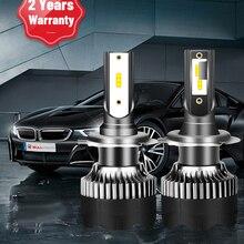BULLVISION H11 H4 H7 Led 12V Mini 9005 9006 Headlights Lamp 20000Lm High Brightness H8