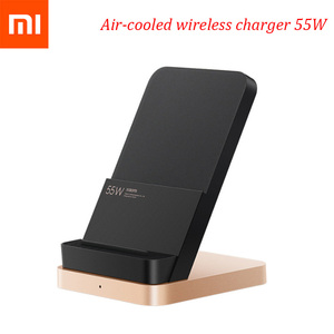 Image 2 - Original New Xiaomi 55W Wireless Charger Max Vertical air cooled wireless charging Support Fast Charger For Xiaomi 10 For Iphone