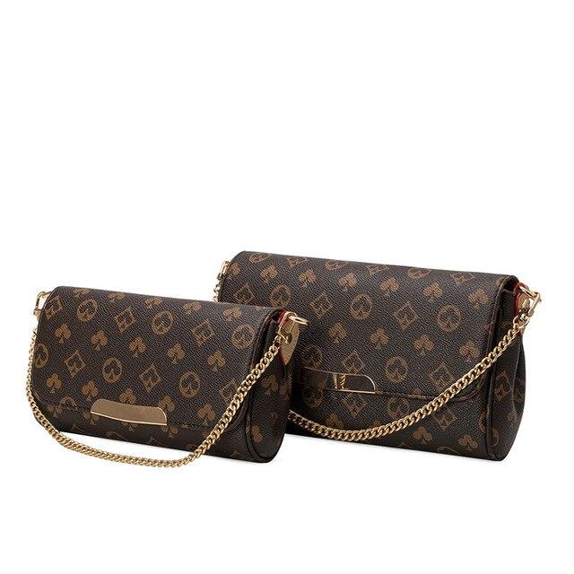 2020 louis Women Shoulder Bag with Chain Print Bag luxury Designer Crossbody Bags Luxury Brand Purses and Handbags high Quality 4