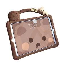 Cartoon Kids Case for iPad 8th 7th Generation Case Shockproof EVA Cover for iPad 3 2 1 9.7 10.2 10.5 Pro 11 2020 2019 Mini Capa