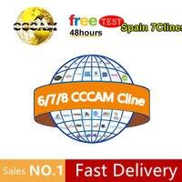 עבור dvb 2020 בסט קולטן קליין זול Cccam עבור 1 בשנה ספרד אירופה המשמש freesat v7 ect מקלט לווין DVB-S2 Ccam (1)