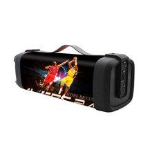 Column Portable Bluetooth Mini Speaker with FM Radio Waterproof Subwoofer Wireless Loundpeakers &Phone Holder portable tws waterproof wireless bluetooth speaker shower subwoofer speaker riding mini column altavozbluetooth for mobile phone
