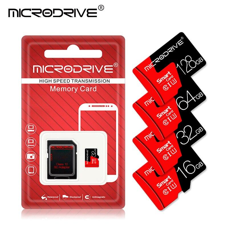 Micro SD TF карта 8 ГБ 16 ГБ 32 ГБ 64 Гб 128 ГБ 256 Гб класс 10 Флэш-память Microsd карта 8 16 32 64 128 256 ГБ для адаптера смартфона