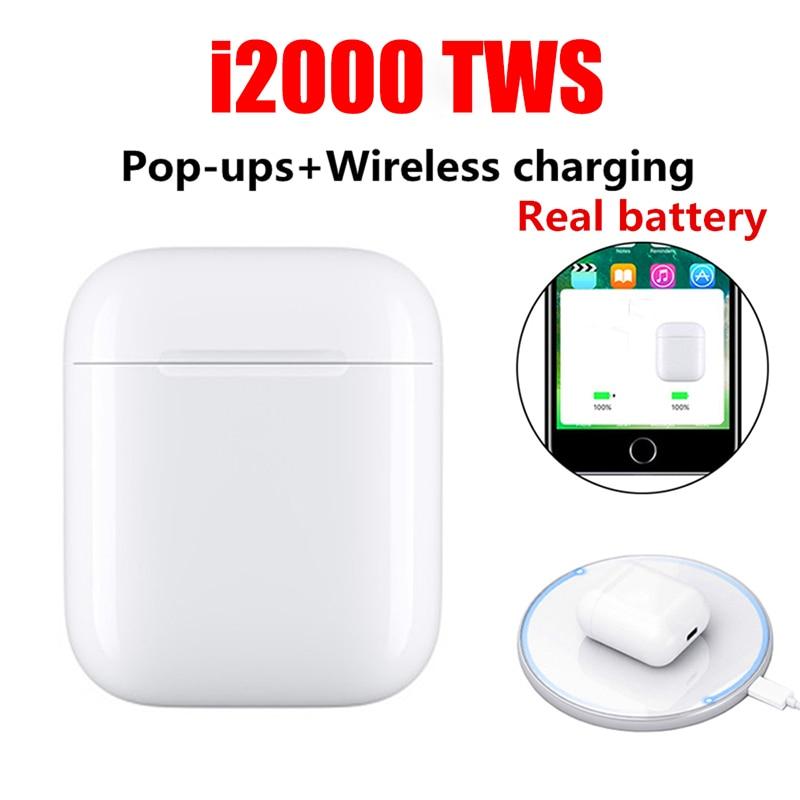 Nouveau i2000 TWS 2019 Pop up Bluetooth 5.0 V5 écouteurs casque sans fil écouteurs écouteurs Super basse PK i9000 i1000 i5000 i 2000 TWS