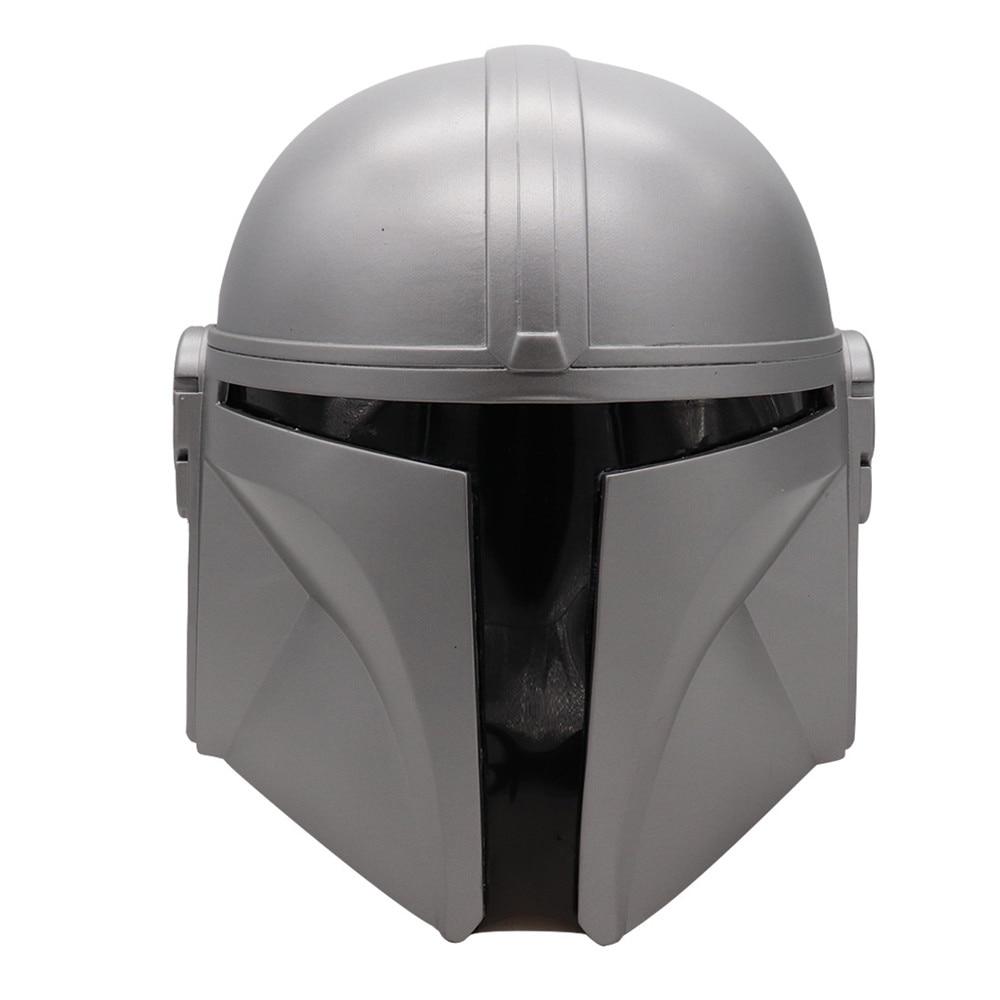 2019 The Mandalorian Cosplay Helmet Star Wars Mandalorian Full Face PVC/Latex Mask Helmet Halloween Party Props