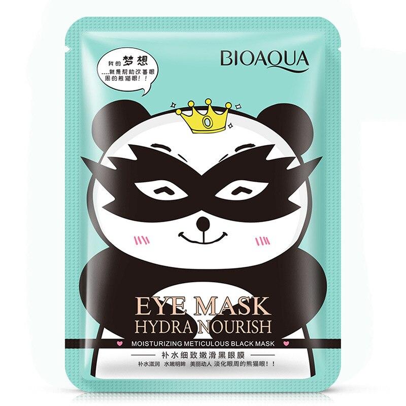 Bioaqua Hydra питающая увлажняющая тщательная маска для черных глаз, патчи для удаления темных кругов, Антивозрастная маска для глаз, уход за