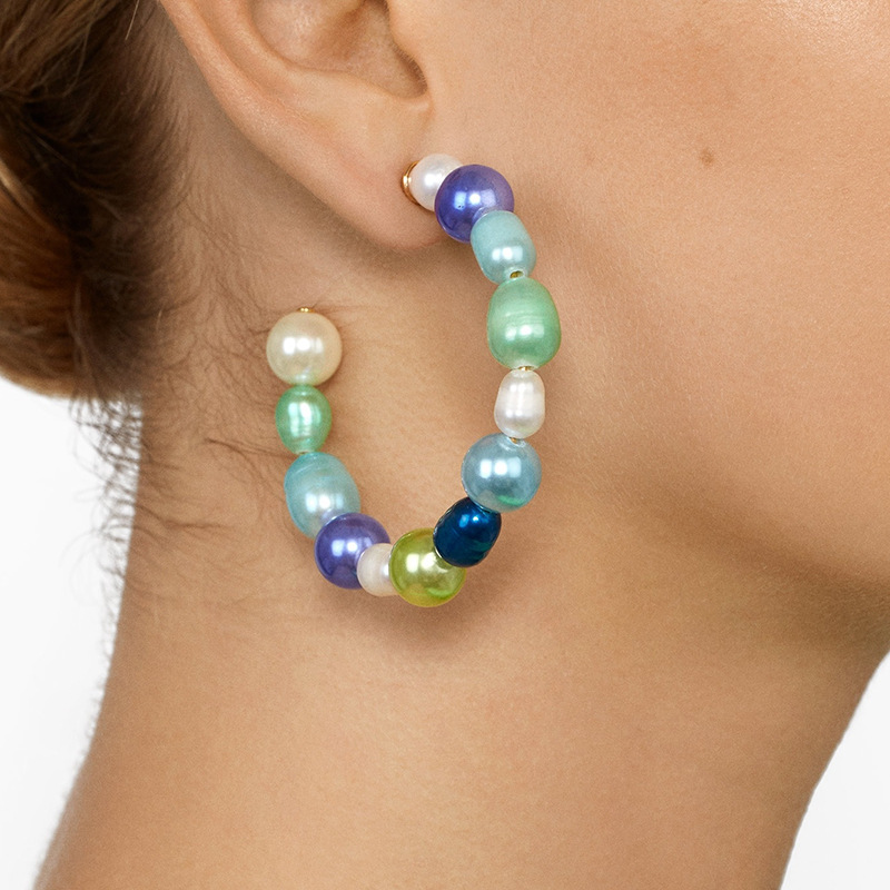 Bohemia-Fashion-Imitation-Pearl-Earrings-for-Women-Charm-Geometric-Big-Circle-C-shaped-Hoop-Earrings-Statement (1)