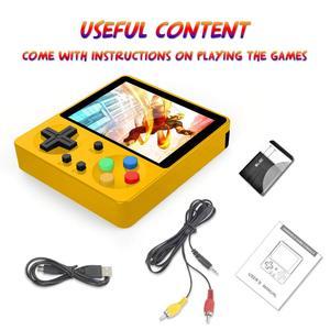 Image 5 - Mini Portatile Retro Palmare Gameboy 333 Giochi 8 Bit Bambini Nostalgico Lettori Video Console di Gioco Del Ragazzo per Il Bambino Nostalgico
