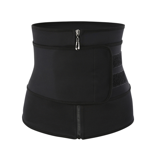 CXZD Waist Trainer Corset Sauna Sweat Belt for Women Weight Loss Compression Trimmer Workout Fitness Shapewear 1