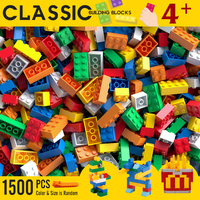 Building Blocks City Classic Brand Creative Bricks Bulk Model Figures Educational Kids Toys Small Size All Available 1