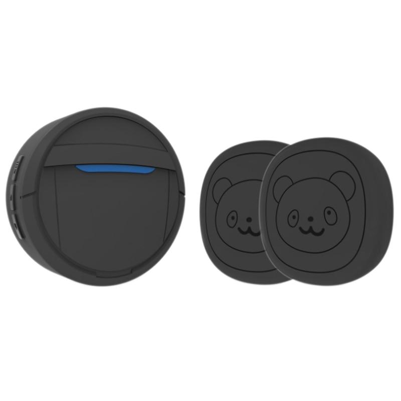 Pet Dog Doorbells Wireless Door Bell House-Training Multifunction Sensor Motion (Receiver & Transmitters) Training Tool US Plug-0