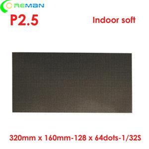 Image 3 - P2 P2.5 P3 P4 flexible led panel module   round curve creative irregular shape led display led video wall