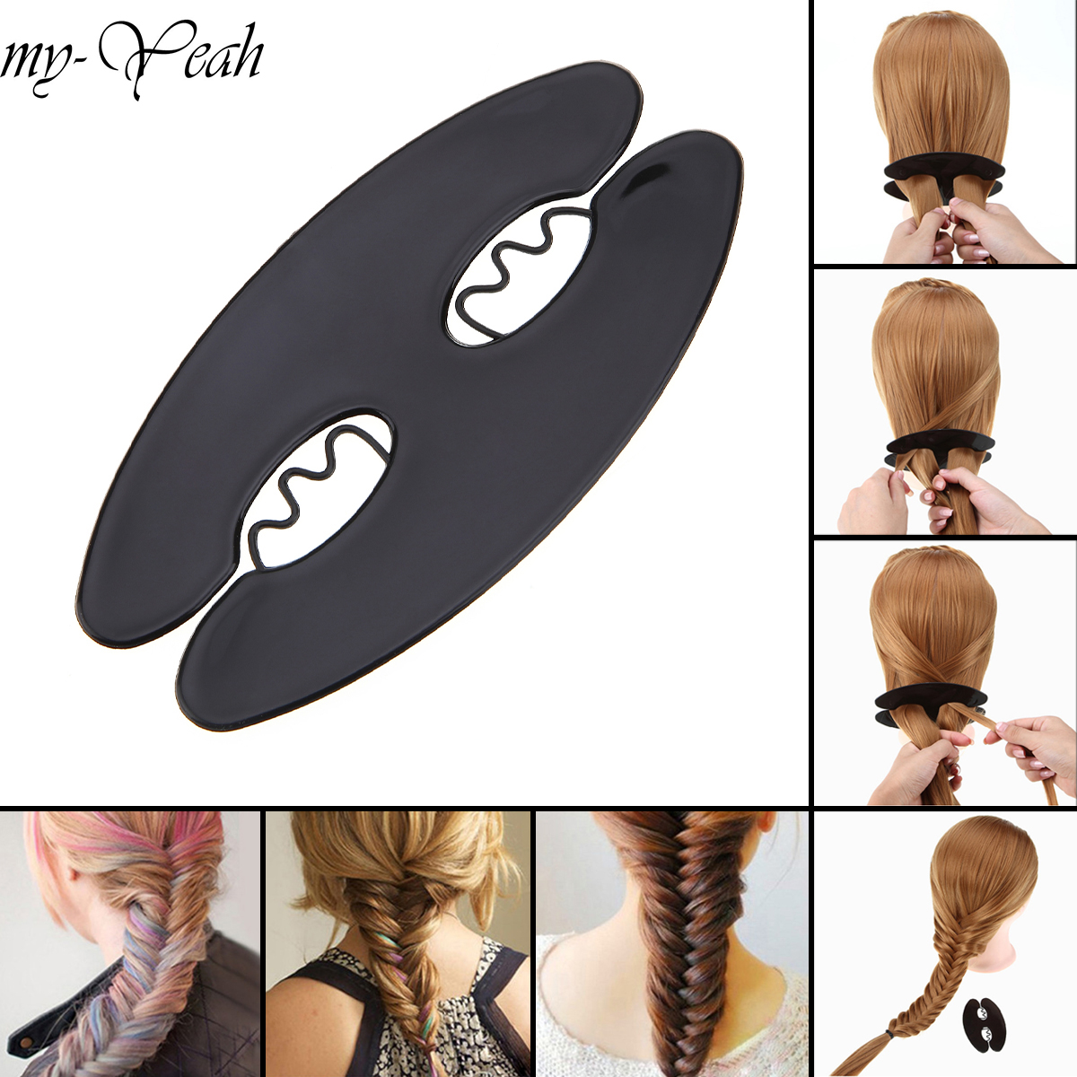 Инструменты для укладки волос, инструменты для укладки волос, инструменты для домашнего использования braid tool hair styling toolstwist bun maker   АлиЭкспресс