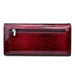 Image 4 - HH Women Wallets and Purses Luxury Brand Alligator Long Genuine Leather Ladies Clutch Coin Purse Female Crocodile Cow Wallet