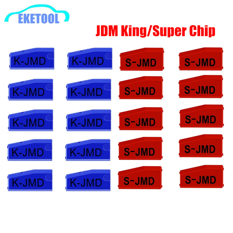 10PCS Lot JMD Super Red King Chip Universal For Handy Baby Upgrade Replace of King Chip Multi-Function 46 4C 4D 47 48 T5 G
