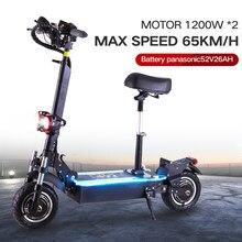 HF skuter elektryczny/motocykl/deskorolka skuter elektryczny trójkołowy dla dorosłych skuterów elektrycznych podwójny silnik 60V52V 2400W