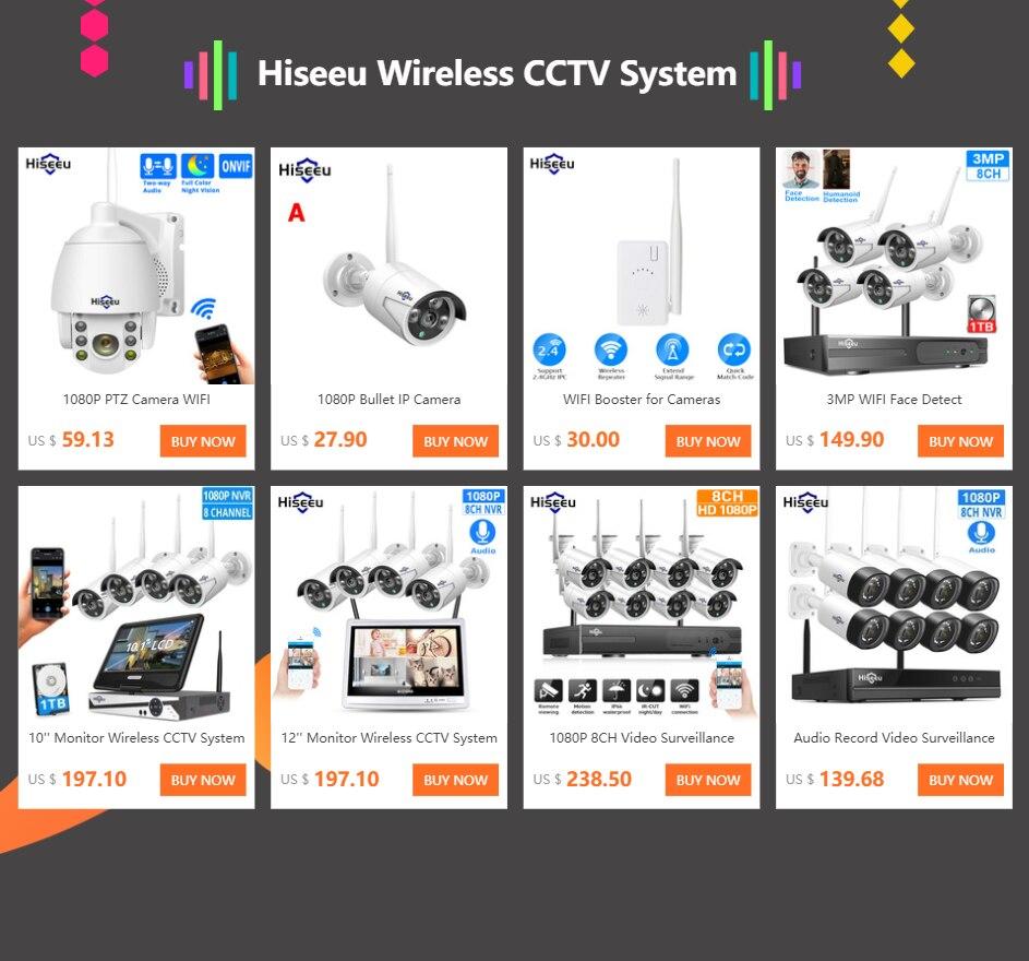 ANNKE 8CH 1080P HD NVR sans Fil Syst/ème de S/écurit/é de Surveillance 2.0MP Cam/éra de Surveillance sans Fil Ext/érieur IP Cam/éra 1080P Acc/ès /à Distance,sans HDD