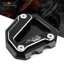 TREON – plaque de Support dextension latérale pour moto KTM Duke 790, 2018, 2019