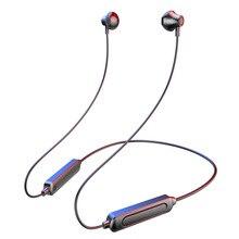 TWS Neck Sport  Waterproof Wireless Bluetooth Earphone 5.0  Wireless Headphones with Mic Half In ear Headset Earbud for Phone