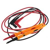 1000V 10A electrónico Kit de Cable de prueba Digital medidor multímetro sonda Universal Cable de alambre de alta calidad, Cable de medición