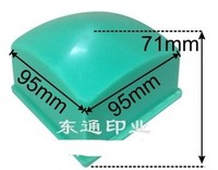 Almohadilla de goma para almohadilla impresa, 95x95mm, tamaño