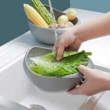 Panier de vidange de fruits et légumes, machine à laver le riz, tamis de lavage de riz, bassin en plastique polyvalent