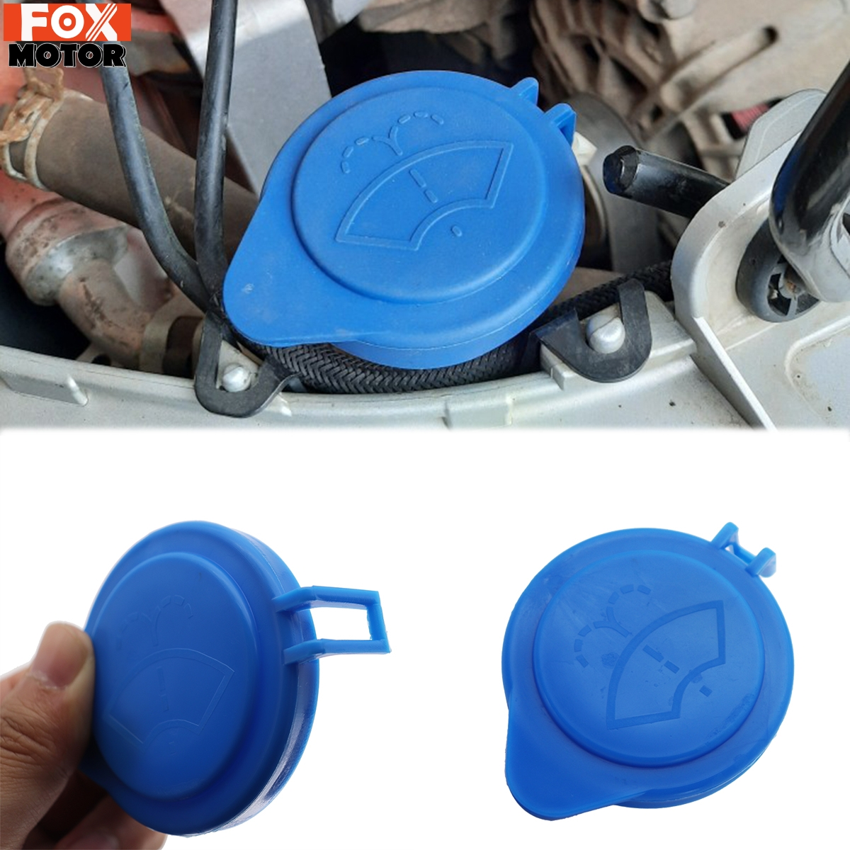 Автомобильный бачок омывателя для лобового стекла, крышка для бутылки, верхняя часть для автомобильного лобового стекла, запасная часть ...