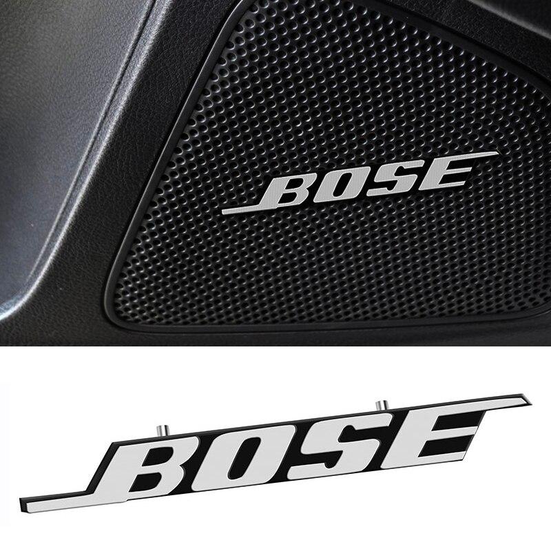4 шт., металлические наклейки-эмблемы для динамиков BOSE Mazda 3 5 6 323 626 RX8 MX3 MX5 CX5 Atenza Axela