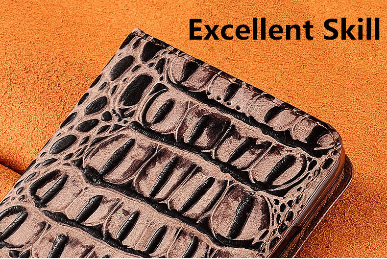 Crocodile Pattern Genuine Leather Flip Phone Case Card Slot Holder For Letv Le Max 2 X820/Letv Le Max X900 Phone Bag Cover Cqoue  - buy with discount