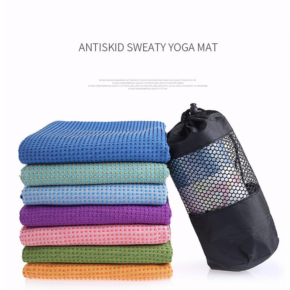 Коврик для занятий фитнесом, йогой, полотенце, противоскользящее покрытие из микрофибры, одеяло, спортивное, нескользящее, для мягких утолщенных упражнений из ПВХ|Коврики для йоги| | АлиЭкспресс