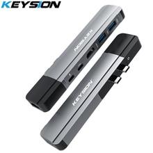 KEYSION USB HUB C HUB To Multi USB 3.0 HDMI Adapter USB Splitter for MacBook Pro Dock Thunderbolt 3 HUB RJ45 Dual USB Type C HUB