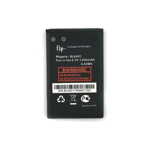 NEW Original 1200mAh BL6401 battery for FLY ezzy1 ezzy2 ezzy4 ds115 High Quality Battery+Tracking Number стоимость